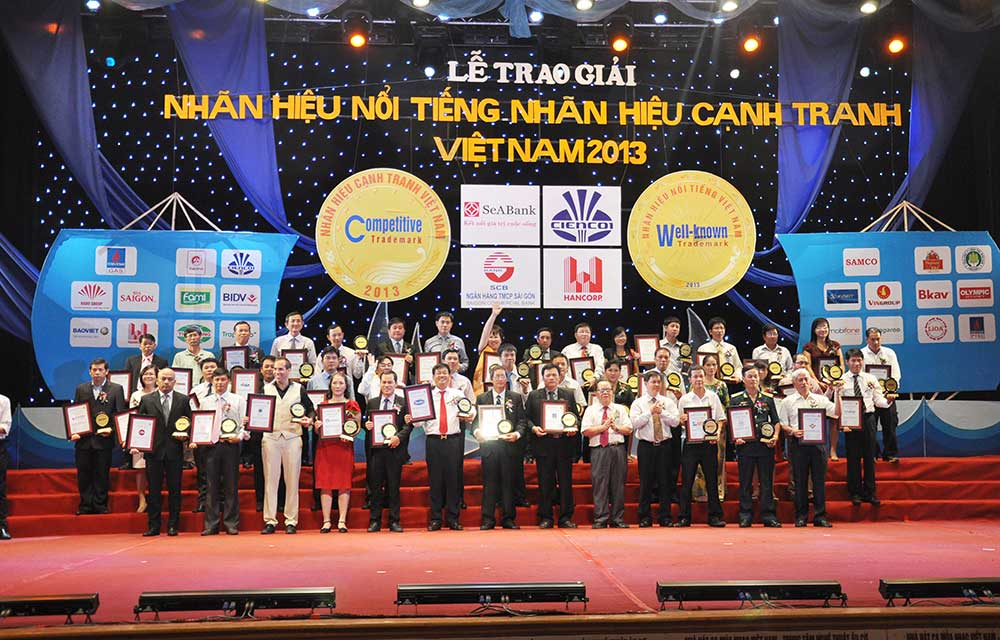 Kings' Island Golf Resport and Do Son Seaside Golf Resort Top 100 Vietnam Well-known Trademark and Competitive Trademark Winner